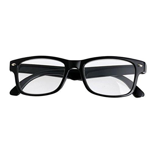 Eliky Classic Black Frame Retro Style veer leesbril lezer +1,5 +2,0 +2,5 +3 +3,5 +4,0 + 3,00 zie afbeeldingen.