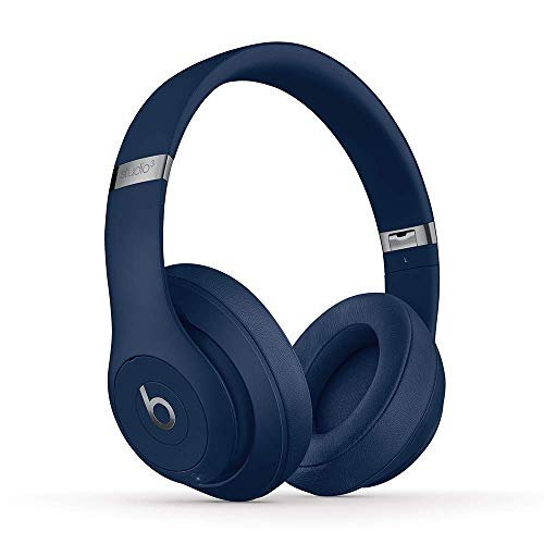 Beats Studio3 Wireless Over-Ear Noise Cancelling Headphones - Blue