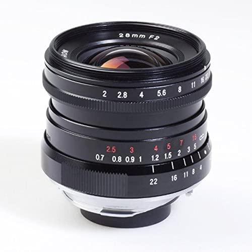 Voigtlaender ウルトラレンズ 28mm/F 2.0 ライカ M コネクション