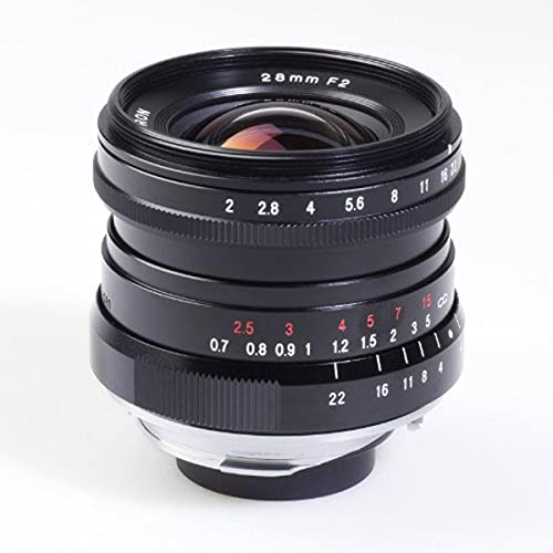 Voigtlaender Ultra Lens 28 mm/F 2.0 Leica M Connection