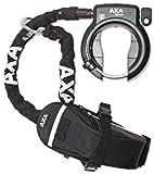 Rahmenschloss Axa Defender mit RL 100 Einsteckkette+ Outdoor Tasche auf