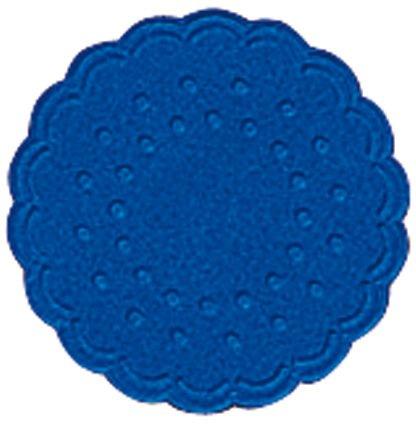 Tassenuntersetzer  - Ø 7,5 cm, blau, 25 Stück