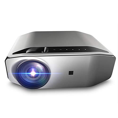 LXLTLB Led Video Projector Full HD 1920~1080 Resolution, Projector Speaker 5w, Projector with 200'' Projection Drawing, 140ansi Brightness with Usb/Vga/sd Card/av