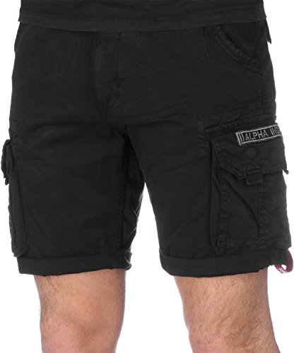 Alpha Industries Crew Short Black 36