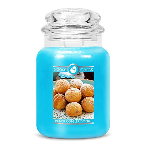 Goose Creek Candle Peach Cobbler Donut 2-Wick Candle 680 g