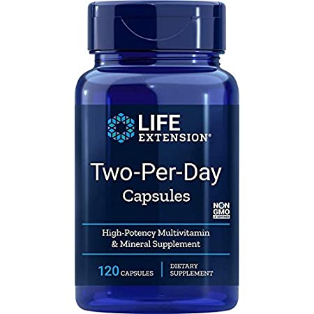 Life Extension, Two-Per-Day Capsules, 120 Capsules (Discontinued Item) 海外直送品
