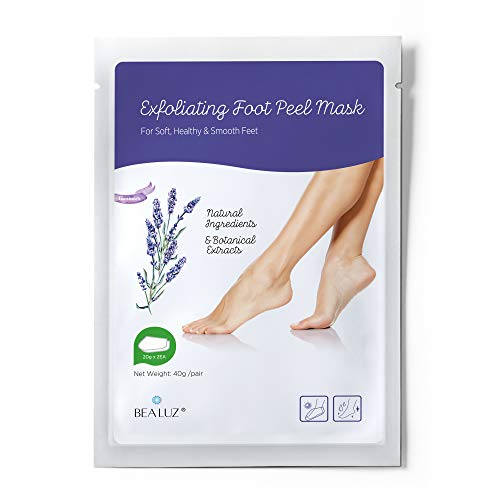 Exfoliating Foot Peel Mask Exfoliant for Soft Feet in 1-2 Weeks, Peeling Off Calluses & Dead Skin, For Men & Women