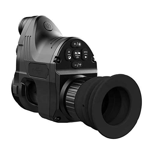 SSeir 1080P HD Digital Nachtsicht Monokular Kamera Wasserdicht Antifogging W-LAN Optisch IR Infrarot 4X ~ 14X Zoom Zielfernrohr 45Mm Adapter Andiord/Ios APP 656Ft Reichweite Umfang
