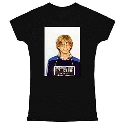 Celebrity Mugshot Apparel Funny Golf Vintage Cool Graphic Tee T Shirt for Women