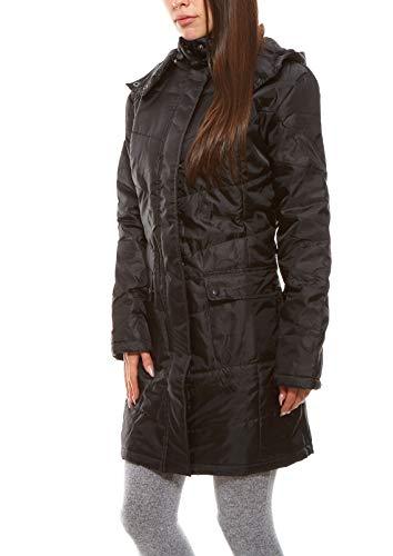 sheego Casual Damen Mantel große Größen schwarz 42