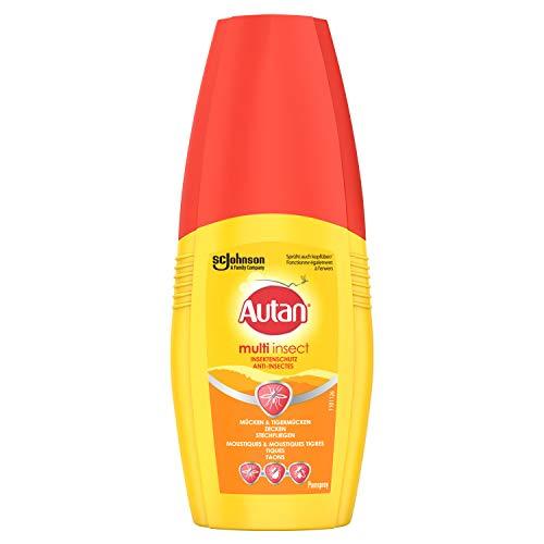 Autan Multi Insect Pumpspray, Multi-Insektenschutz vor Mücken, Stechfliegen und Zecken, 1er Pack (1 x 100 ml)