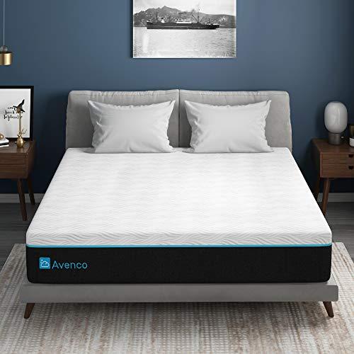 Matratze 140x200, Avenco Kaltschaummatratze 140x200 h3, 18cm Premium 140x200 Matratze mit CertiPUR-US Schaum für Unterstützung, Druckentlastung und kühleren Schlaf, 10 Jahre Unterstützung