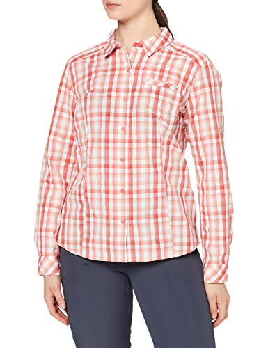 The North Face T92S7CQTX. L Chemise Femme, Cayenne Red Plaid, L
