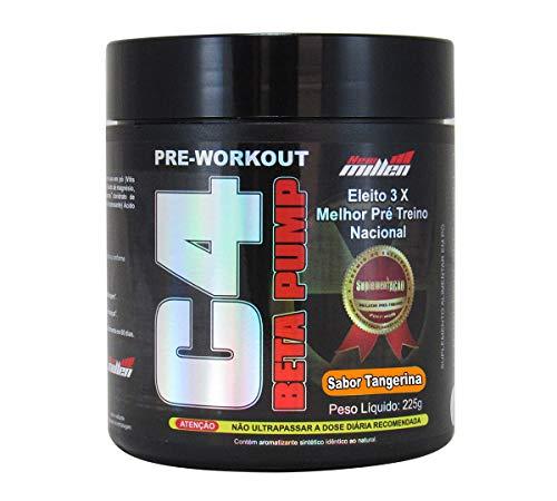 C4 Pre Treino Beta Pump 45Doses Arginina Beta alanina Taurina Cafeína (limao)