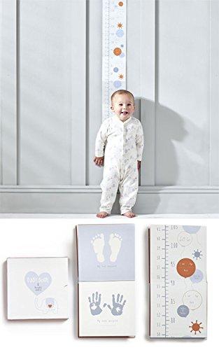 My First Friend éléphant Baby Record Book & hauteur Tableau – Unisexe