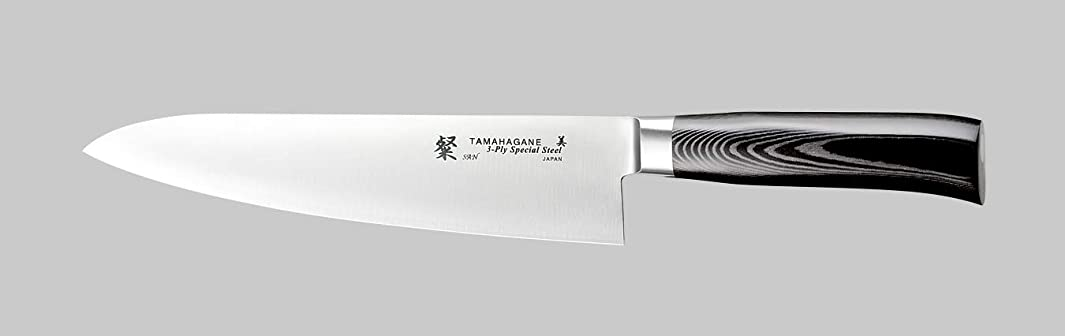 Tamahagane Tsubame Mikarta Stainless Steel Chef's Knife, 8-Inch