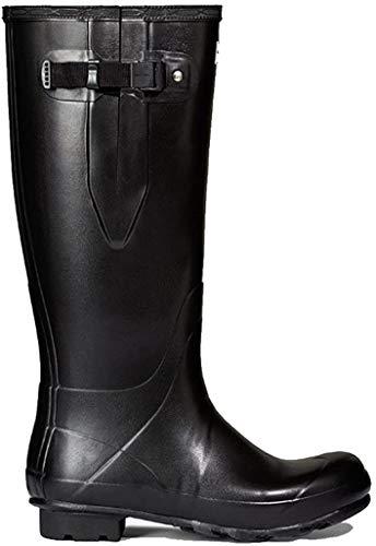 HUNTER New Norris Field Adjustable Neoprene Lined Wellington Boots 45-46 EU Black