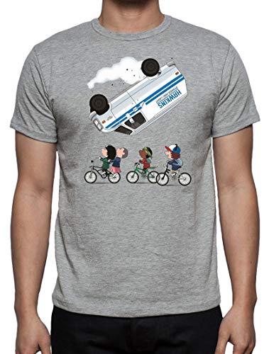 Camiseta de Hombre Stranger Things Once Series Retro 80 Eleven Will 005 S