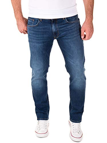 Yazubi Hosen Herren Jeanshosen Für Männer Jungen Jeans Stretch, Blau (Dark Denim 194118), W29/L32