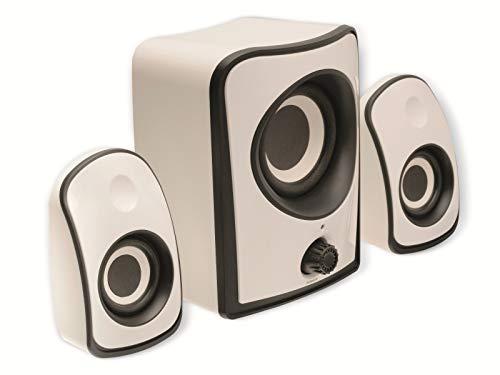 König CS21SPS100WH Lautsprecherset 2.1 weiß