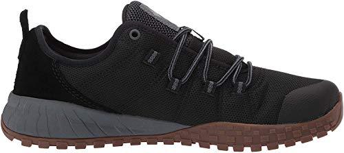 Columbia Men#039s Fairbanks Low Shoe Breathable HighTraction Grip Black Graphite 11