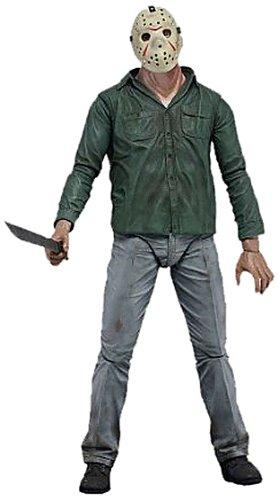 NECA - Friday The 13th, Parte 3 Jason Viernes 13, Figura de 18 cm (NEC0NC39782)