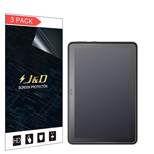 J&D Compatible for Amazon All-new Fire HD 8 Plus 2020/Fire HD 8 2020/Fire HD 8 Kids Edition 2020 Screen Protector, 3-Pack [Anti-Glare] [Not Full Coverage] Matte Protective Film Shield Screen Protector