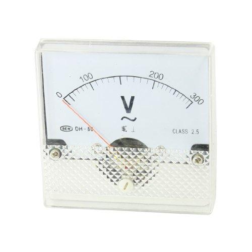 Aexit AC 0-300V Rechteckige Form analoges Messgerät Voltmeter Manometer YS-80 (35ee27c1553d6385371c7350ed840f9b)