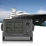 Navegador marino impermeable, ONWA KP-32 GPS/SBAS Navegador marino Pantalla LCD de 4,5 pulgadas Localizador de navegación GPS