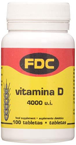 Fdc Vitamina D 4000UI - 100 gr