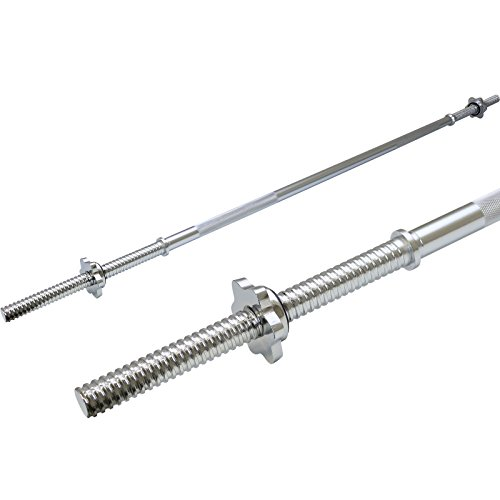 Photo of Hardcastle 5ft Solid Steel 1″ Barbell Weight Bar