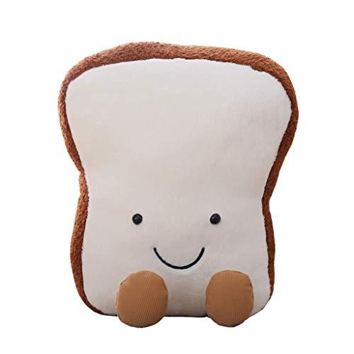 ZMDZA Brot plüsch Kissen Kissen Puppe Spielzeug Geschenk Hause Bett Zimmer innendekoration mädchen Kind Geschenk niedlich Kawaii (Size : 20cm)