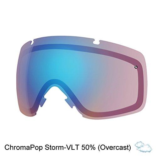 Smith I/O Snow Goggles Replacement Lens ChromaPop Storm Rose Flash