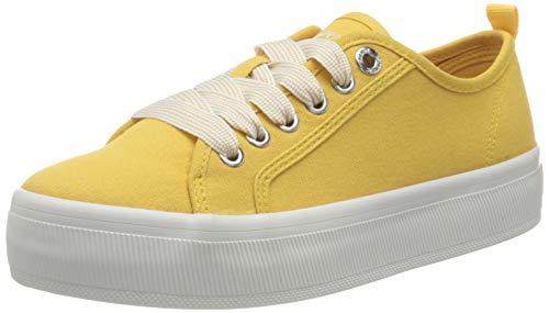 s.Oliver 5-5-23678-26, Zapatillas Mujer, Amarillo, 36 EU