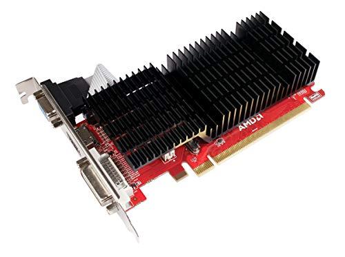 Diamond Multimedia AMD Radeon HD 5450 PCI Express GDDR3 1 GB (DVI, HDMI, VGA) Low Profile Enhanced Heatsink Video Graphics Card (5450PE31G)