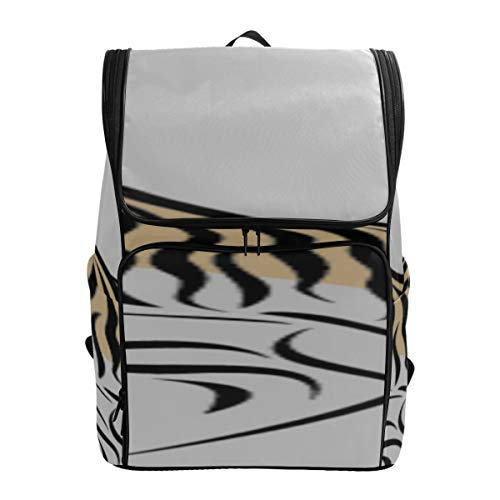 Ferocious Bengal Tiger In Forest Hiking Crossbody Bags For Women Hiking Bag Lightweight Mens School Bag Best Packable Daypack Fits 15.6 Inch Laptop And Notebook Backpack For Women School Bags For Ki