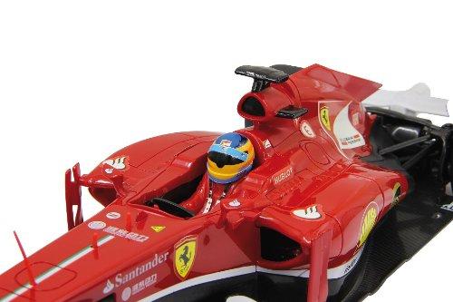 RC Auto kaufen Rennwagen Bild 4: BUSDUGA RC Ferrari F1 1:12 Rennwagen ferngesteuert Version 2013 - inkl. Batterien - Lizenz-Nachbau*