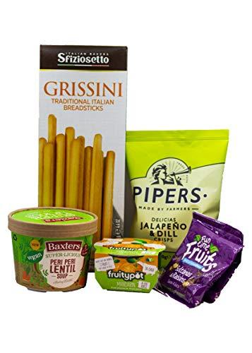 Vegan Vegetarian Hamper Baxters Peri-Peri Lentil Soup breadsticks Christmas Food Gift Vegetarian Hamper Selection Box