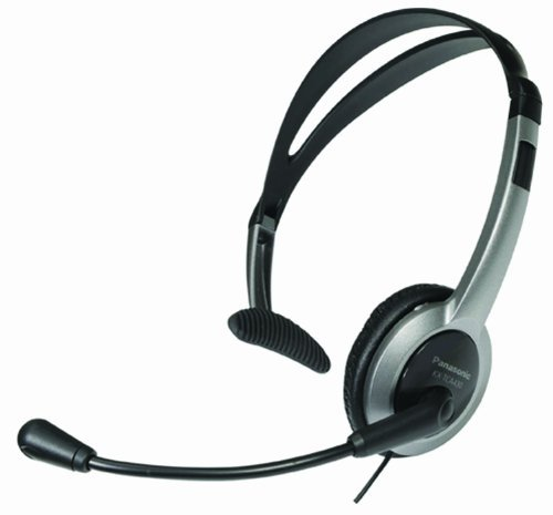 Panasonic Hands-Free Headset with Foldable Comfort Fit, Lightweight Headband & Flexible, Optimum Voice Microphone For The Panasonic KX-TGA430B - KX-TGA450B & KX-TG4500B 5.8 Ghz 4-Line FHSS Expandable Cordless Phone System