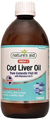 Natures Aid Cod Liver Oil Liquid (PACK OF 1)
