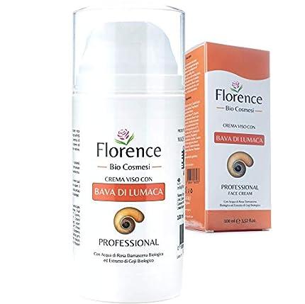 Grande 100ml. Bio Crema de Baba Caracol. Hidratante facial con Ácido Hialurónico y Vitamin C. 20+ Ingredientes Antiedad y Antiarrugas para la cara y Contorno de Ojos. Crema de Dia/Noche y Mujer/Hombre