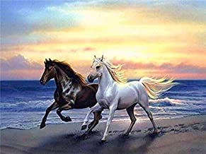 Paintings 5D Diy Mosaic Rhinestone Home Decoration Diamond Painting Horse Full Square Diamond Embroidery Animals Picture L...