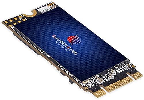 GamerKing M.2 2242 SSD 128GB SATA III 6Gb/s NGFF 内蔵型 Solid State Drive ハードドライブ 高性能ハードドライブノート/パソコン/デスクトップ適用 ソリッドステートドライブ 3年保証SSD 64GB 120GB 128GB 240GB 250GB 480GB 500GB 1TB (128Gb, M.2 2242)