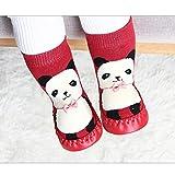 GDZTBS Calcetines de Pantuflas de Bebé, Zapatos de Pre-Caminante para...