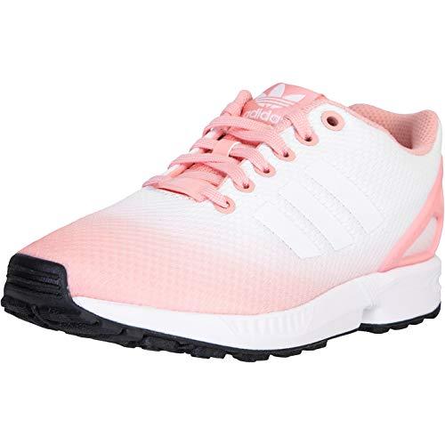Adidas ZX Flux Baskets pour femme - Rose - Rose/blanc/noir., 40 2/3 EU