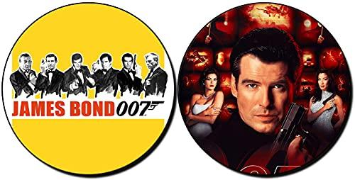 MasTazas James Bond 007 Tomorrow Never Dies Pierce Brosnan Sottobicchieri x4 Coasters