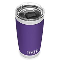 These Ramblers come standard with our YETI MagSlider Lid, the only drink lid that uses the power of magnets to keep your water, beer, or favorite drink on lock Our Ramblers are BPA-free, dishwasher safe, and have a No Sweat Design to make sure your h...