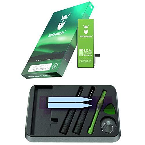 Batería Hagnaven® Li-polímero para iPhone 5c | Batería Premium con Herramientas | 1660 mAh | Potente Batería de sustitución | Celdas MÁXIMA AUTONOMÍA