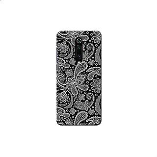Black and White Elegant Back Cover for Xiaomi Mi 9T