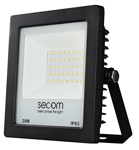 Secom TENKO Eco LED Negro 20W, 1950 lúmenes, 5700ºK Proyector